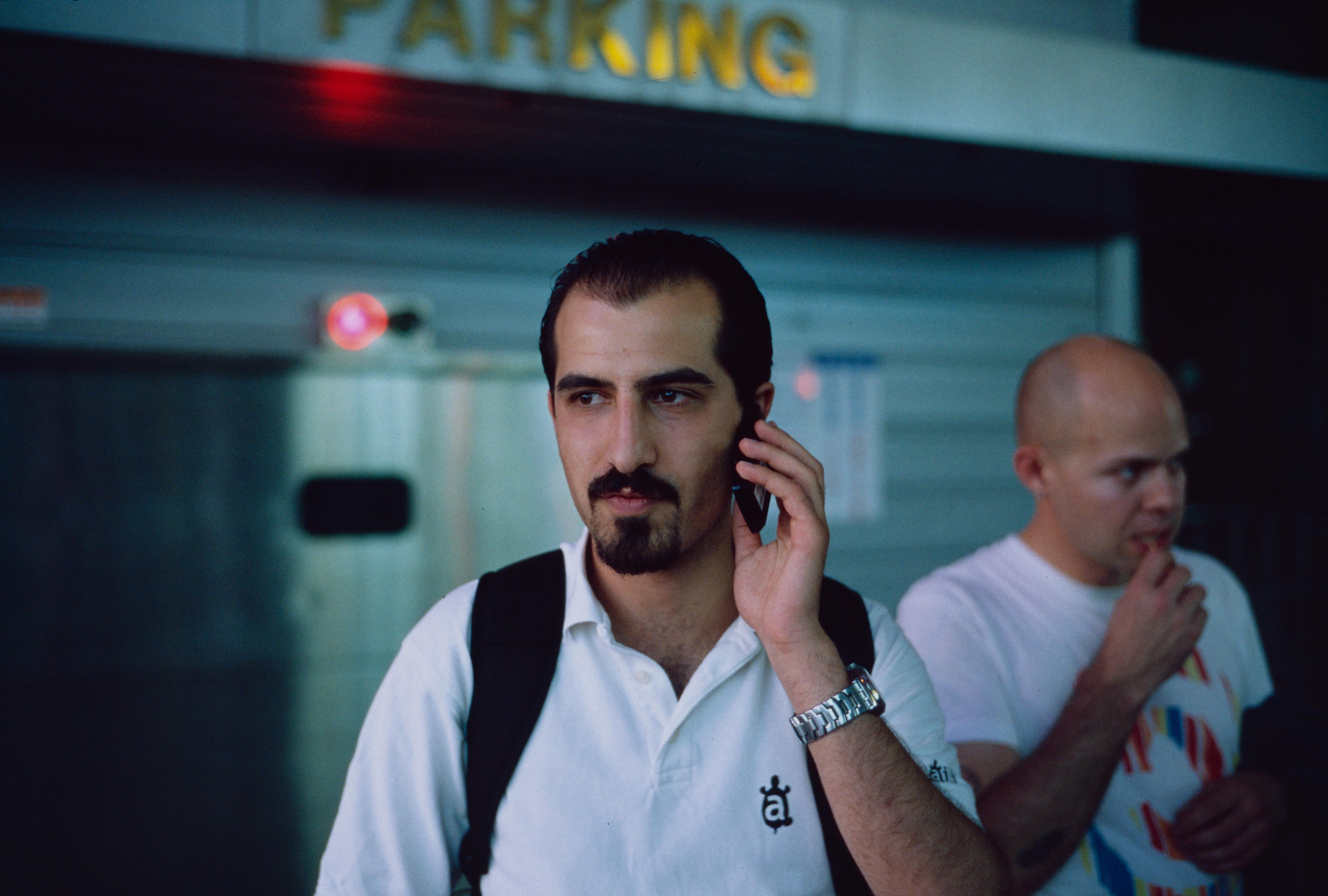 Уикипедианецът и активист за отворен код Басел Картабил е отведен от сирийски затвор и заведен на неизвестно място. Снимка от Christopher Lee Adams, обществено достояние.