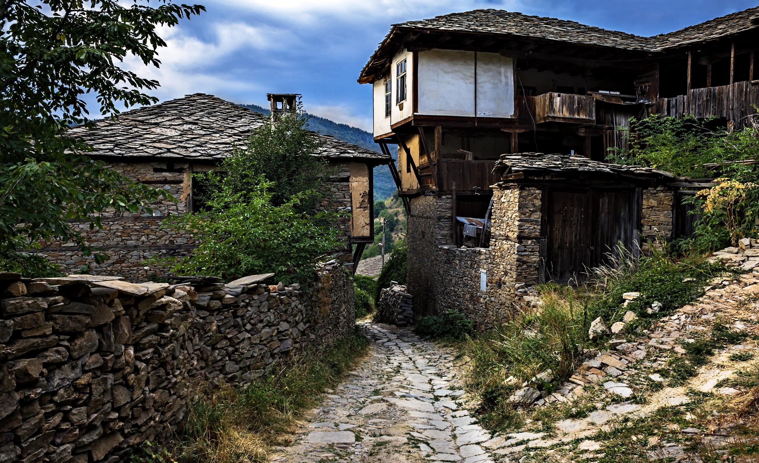 Улица и къщи в Ковачевица