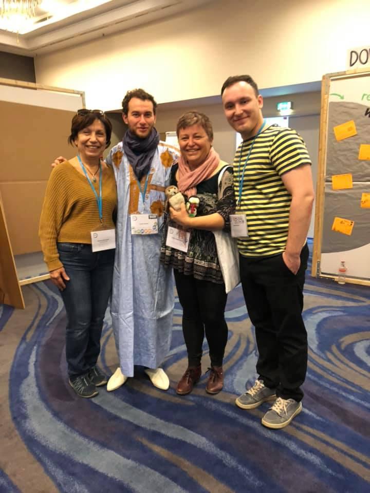 Интервю с Анас Седрати от Уикипедия Мароко
