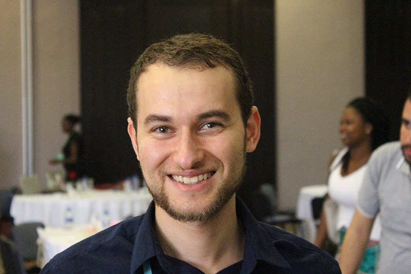 Anass at WikiIndaba 2018 in Tunisia