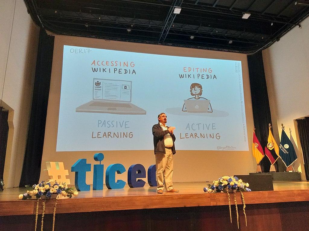 Charla Vahid TICEC sobre Wikipedia y la educación Date 28 November 2019 Author Edjoerv